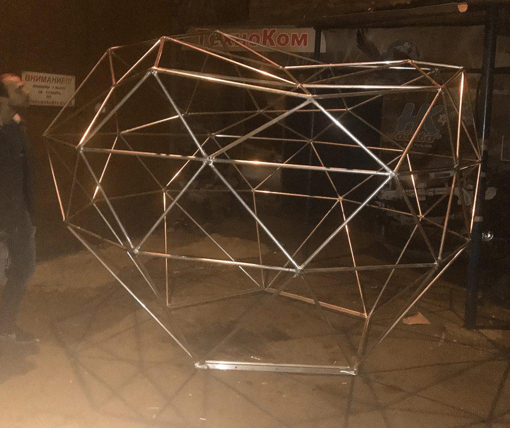 Каркас из алюминия